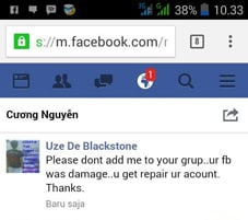 penanganan malware facebook
