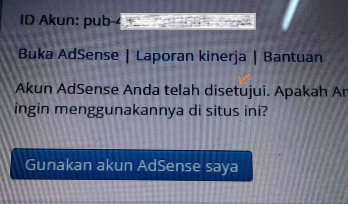 Prediksi Penyebab hilangnya iklan AdSense
