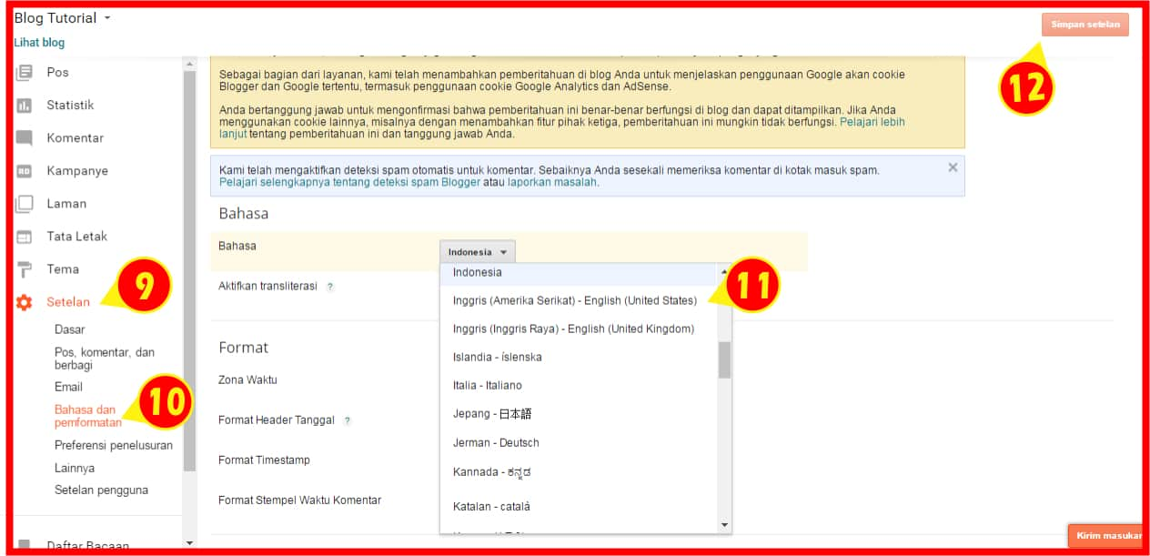 tutorial membuat blog