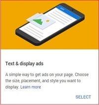 Iklan AdSense standar
