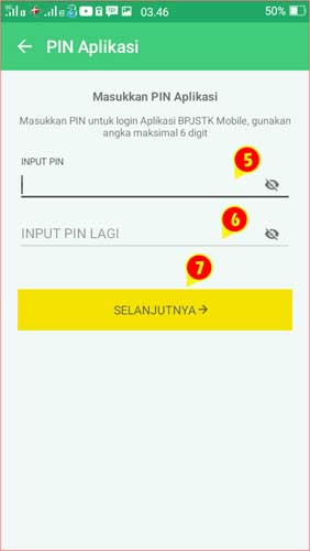 Seting PIN Aplikasi BPJSTK Mobile.jpg