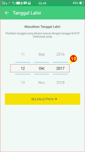 Kolom tanggal lahir Aplikasi BPJSTK Mobile.jpg