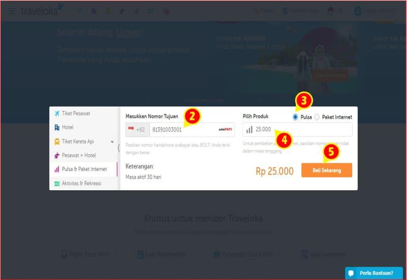 mengisi data pembelian pulsa di Traveloka.jpg