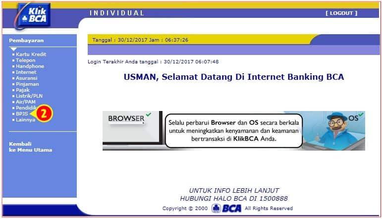 Navigasi Pembayaran BPJS Pada Internet Banking BCA.jpg
