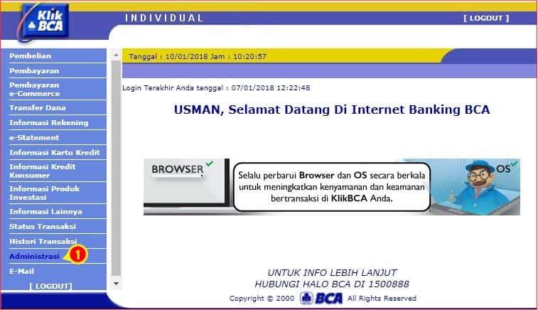Navigasi Administrasi Internet Banking BCA.jpg