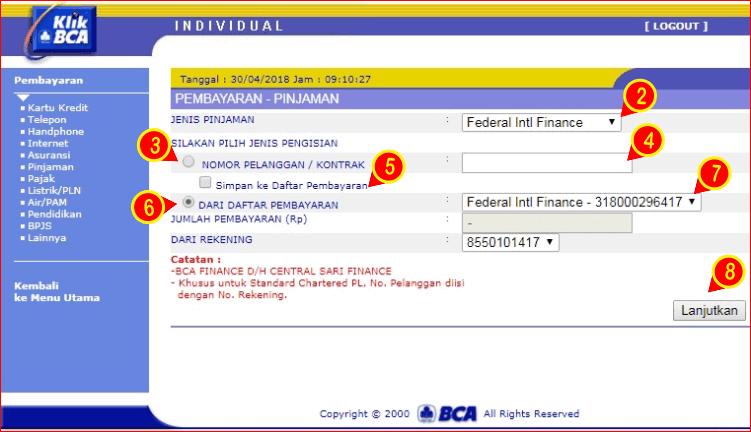 seting pembayaran FIF di BCA ibanking.png