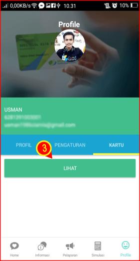 Navigasi untuk melihat kartu BPJSTK.png