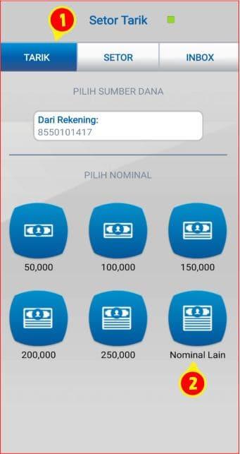 memilih nominal transaksi penarikan uang tunai.jpg