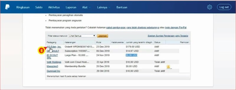 List Pembayaran Berlangganan Pada Akun Paypal.jpg