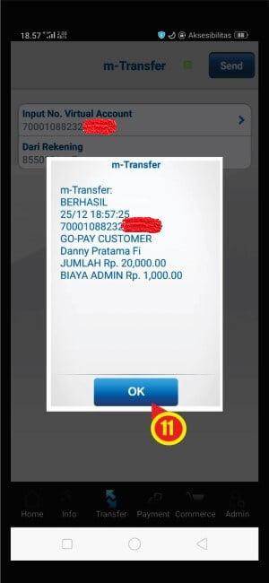Bukti transaksi isi ulang GoPay pada BCA Mobile.jpg