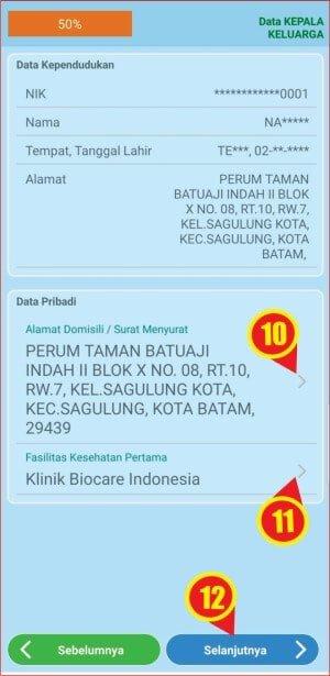 cara memasukkan alamat dan klinik di aplikasi mobile JKN.jpg