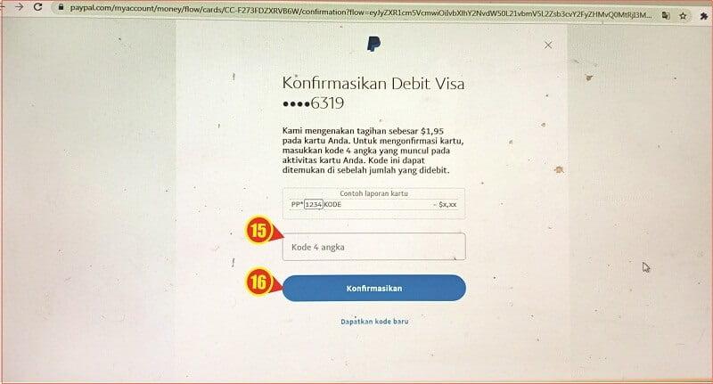 cara memasukkan kode verifikasi Paypal dari kartu kredit.jpg