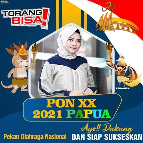 Twibbon PON XX Papua 2021.jpgTwibbon PON XX Papua 2021.jpg